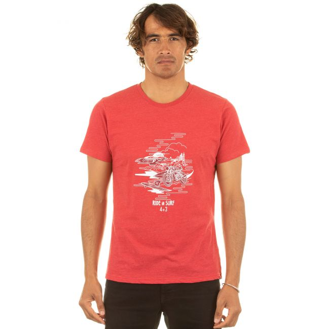 RIDE AND SURF rouge bio
